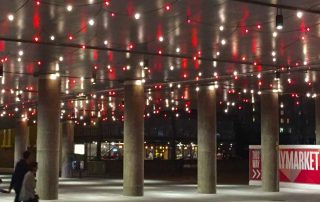 Festoon Lighting Darling Harbour