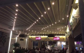LED Festoon Lighting System in Westfield Miranda, Sydney