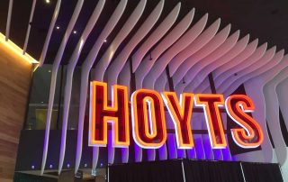GVA Lira architectural lighting Hoyts Chadstone