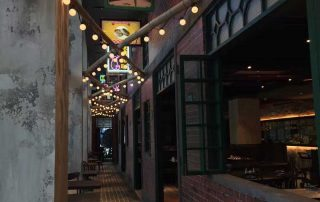 Restaurant Festoon Lighting Taste of Shanghai Burwood