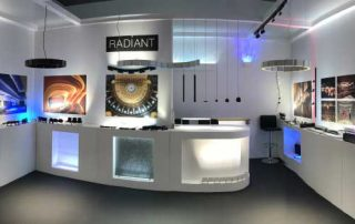 Radiant's stand @ Light + Building 2018
